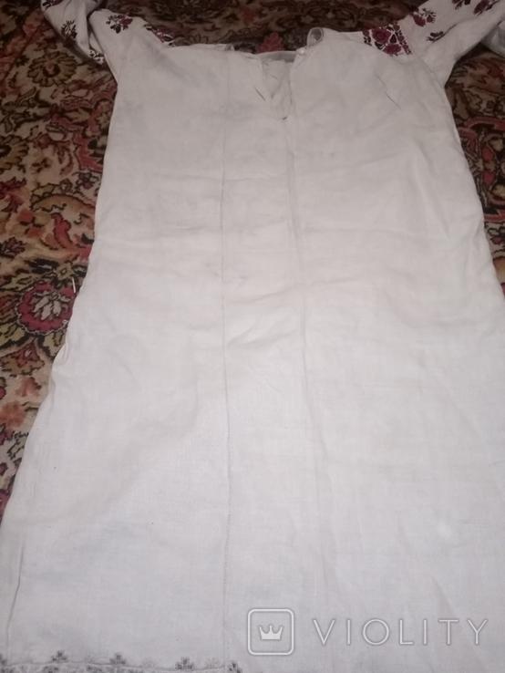 Сорочка вишета хрестиком, фото №5