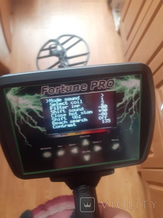 Металлоискатель FORTUNE-PRO + FM, фото №8