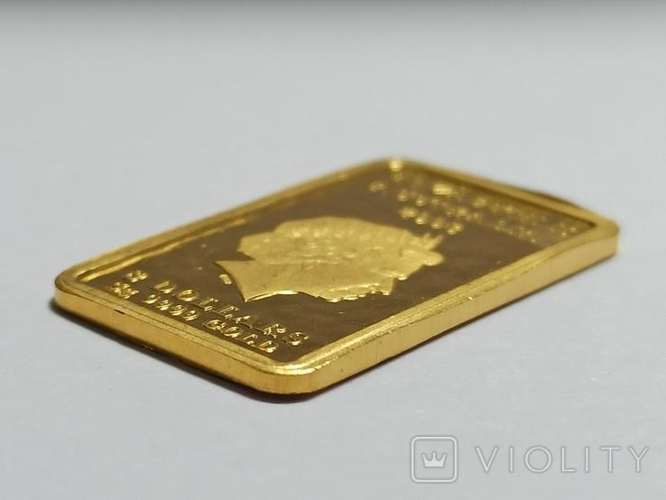 8 долларов, Австралия 2008, 5 г. 9999, фото №4