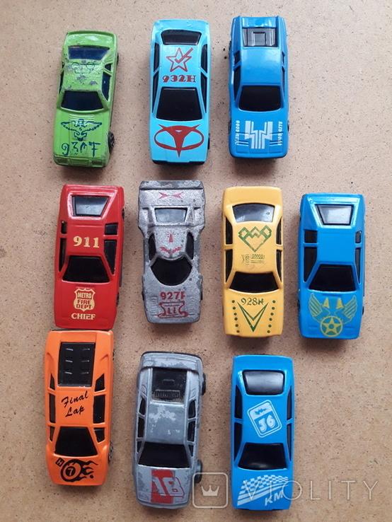 Гоночные машинки с номерами. Модельки, фото №3
