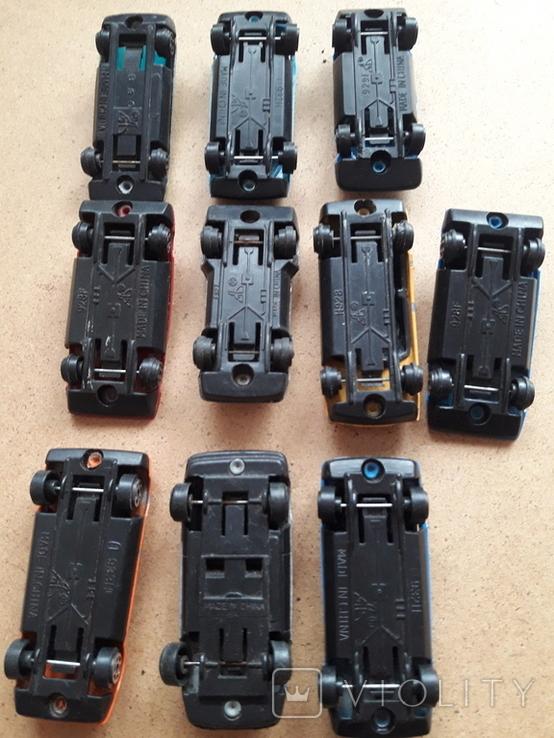 Гоночные машинки с номерами. Модельки, фото №6