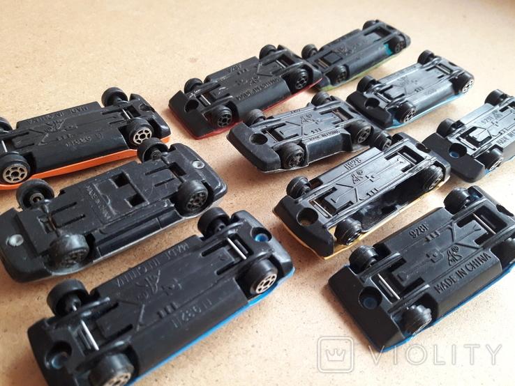 Гоночные машинки с номерами. Модельки, фото №7