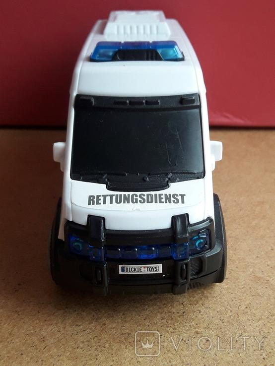 Микроавтобус -фургон Скорая помощь с тумблером, Dickie toys, фото №4