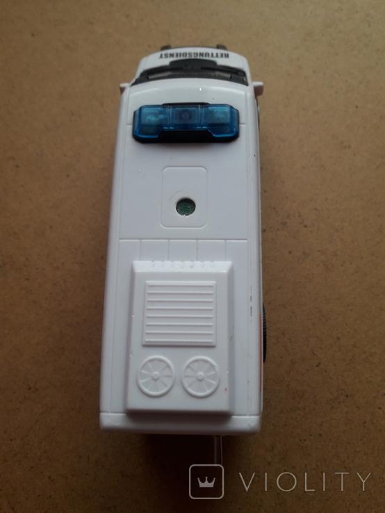 Микроавтобус -фургон Скорая помощь с тумблером, Dickie toys, фото №6