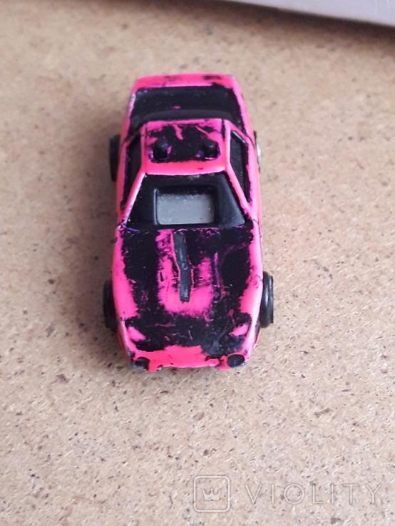 Крохотная гоночная машинка, Hot racies 1989, Малайзия, металл,, фото №4