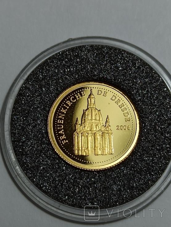 Монета республики Конго , 1500 франков 2004 год, фото №2