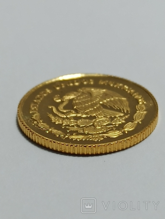 Мексика 0.999 1/20 унц.1999 год, фото №3