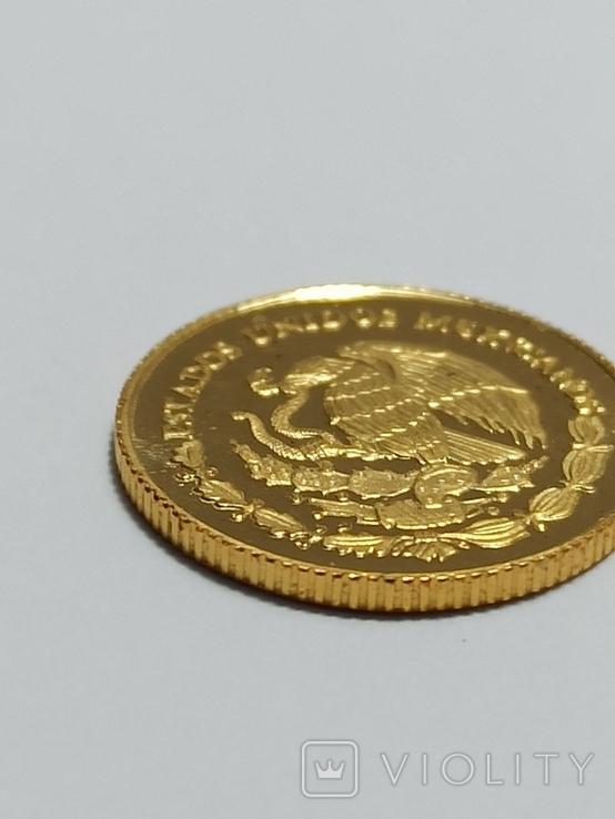 Мексика 0.999 1/20 унц.1999 год, фото №4