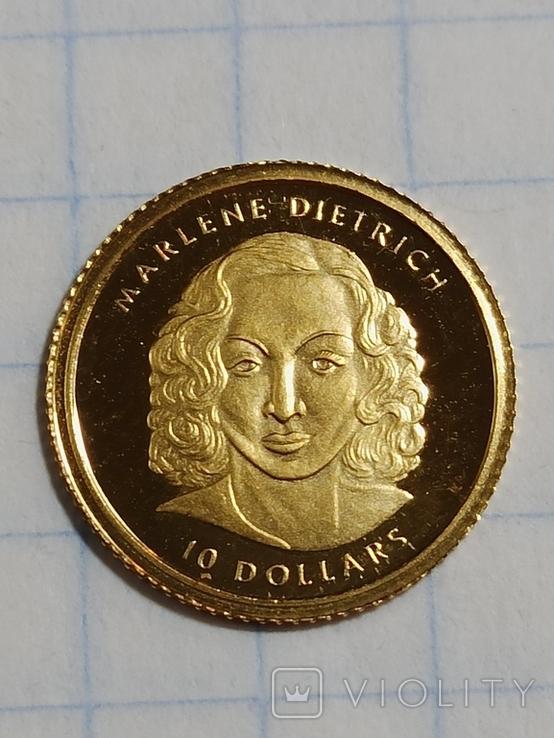 Марлен Дитрих, Либерия 2001, фото №2