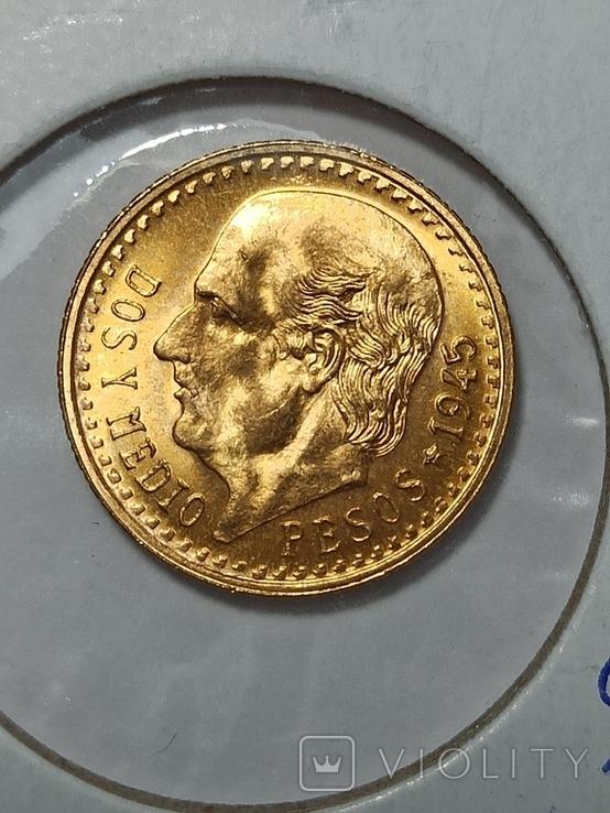Peso 2 1/2 , 1945 год, фото №2