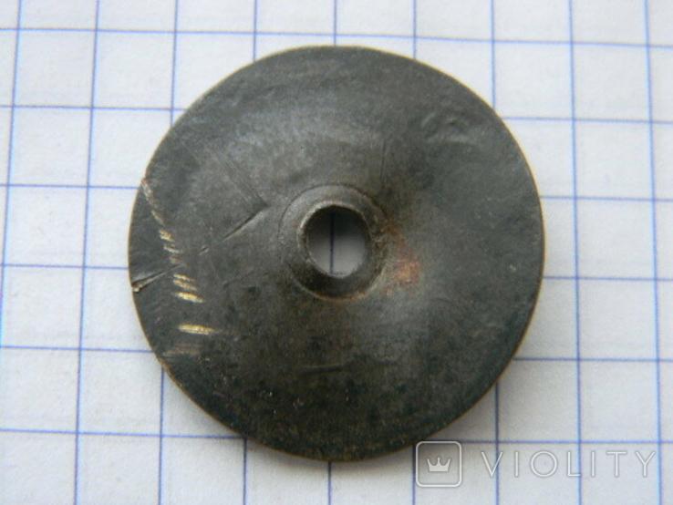 Колесико от керосиновой лампы с еврейской символикой., фото №4