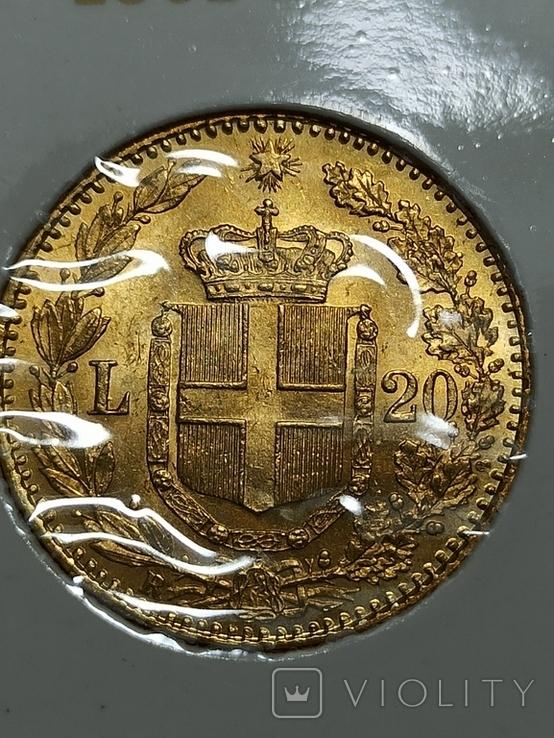 20 лир 1882 год, фото №5