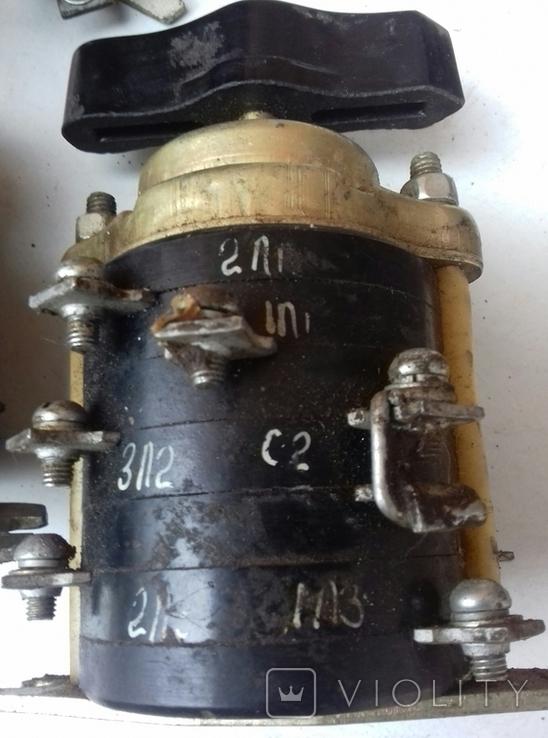 Пакетный выключатель ППО 3-25, фото №3
