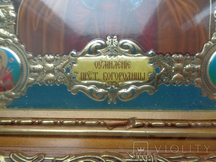 Икона Умиление Пресвятой Богородицы 27 см * 24 см, фото №3