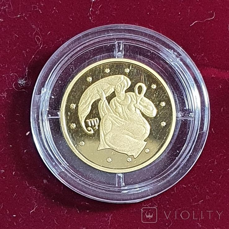 Монета Дева 2008 г. 999,9, фото №3