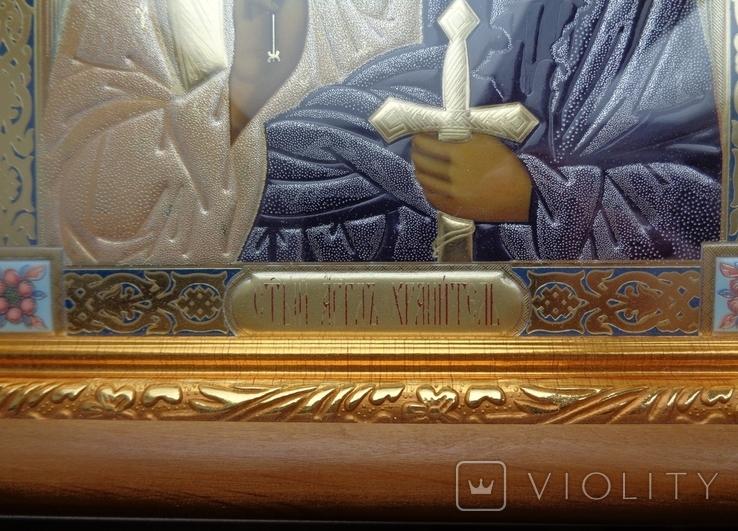 Икона Ангел Хранитель 29 см * 22 см, фото №3