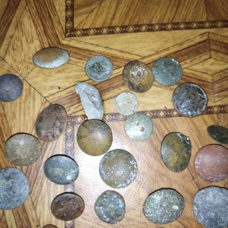 Пуговицы, разные, фото №2