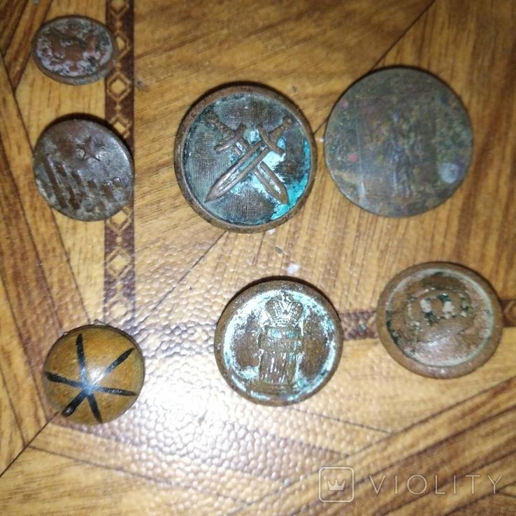 Пуговицы, разные, фото №7
