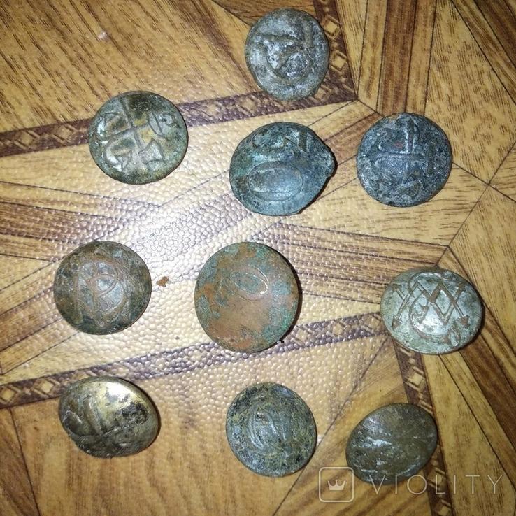 Пуговицы, разные, фото №9