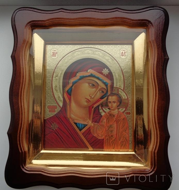 Икона Казанская 27 см * 24 см, фото №2