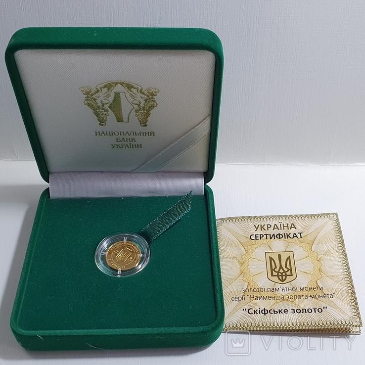 """Монета """"Скiфське золото"""" 2008 год, фото №2"""