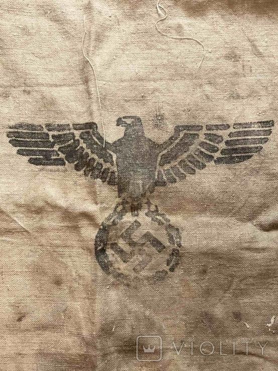 Брезентовая ткань со свастикой 1938 г., фото №2