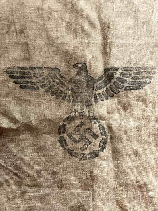 Брезентовая ткань со свастикой 1938 г., фото №8