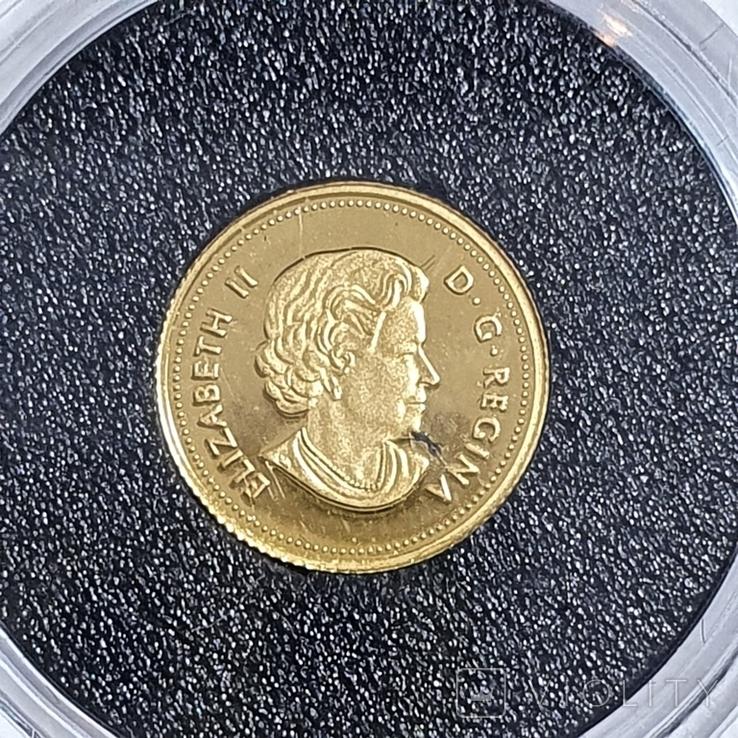 25 центов 2017год, 9999 Canada, фото №3