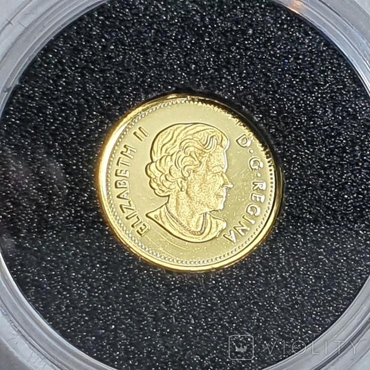25 центов 2017 год, 9999 Canada, фото №3
