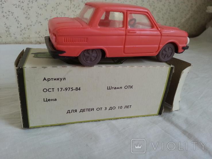 """Игрушка Запорожец"""" СССР, фото №8"""