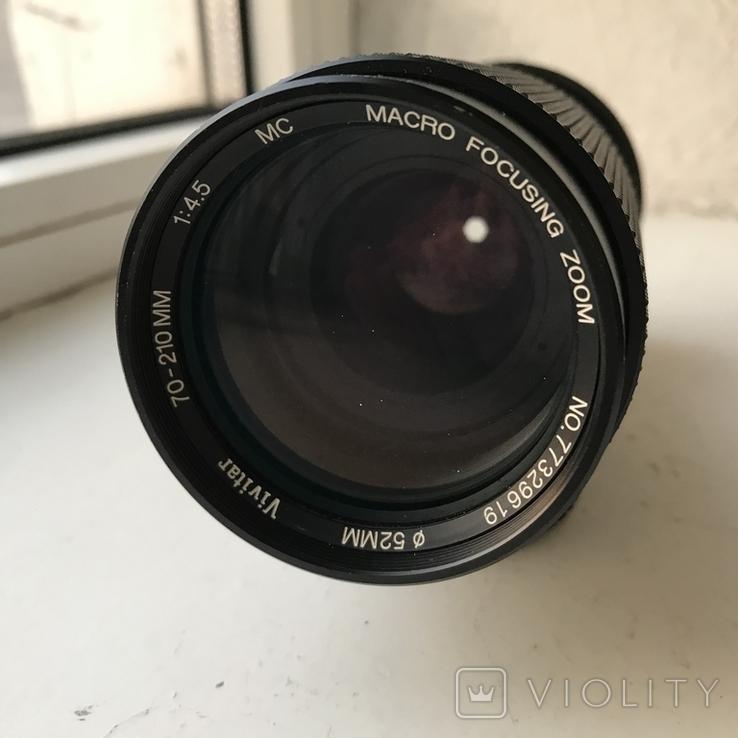 Обектив Vivitar MC 70-210mm f/ 4.5, фото №3