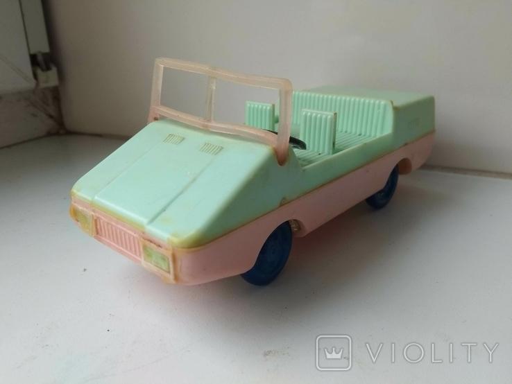 Машинка СССР пластик., фото №3
