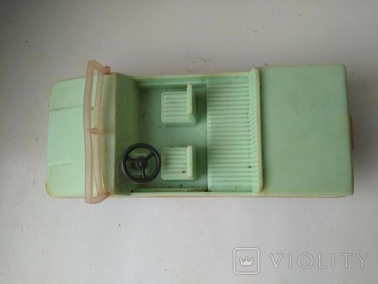 Машинка СССР пластик., фото №6