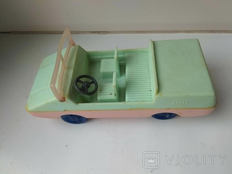 Машинка СССР пластик., фото №7
