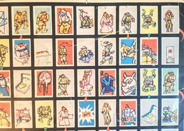 Настольная игра. Черепашки ниндзя. 90е гг., фото №5