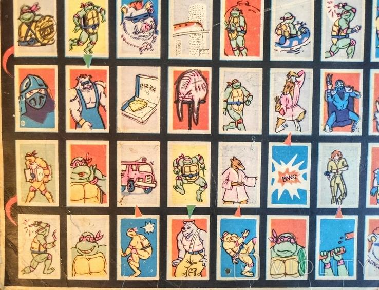 Настольная игра. Черепашки ниндзя. 90е гг., фото №7