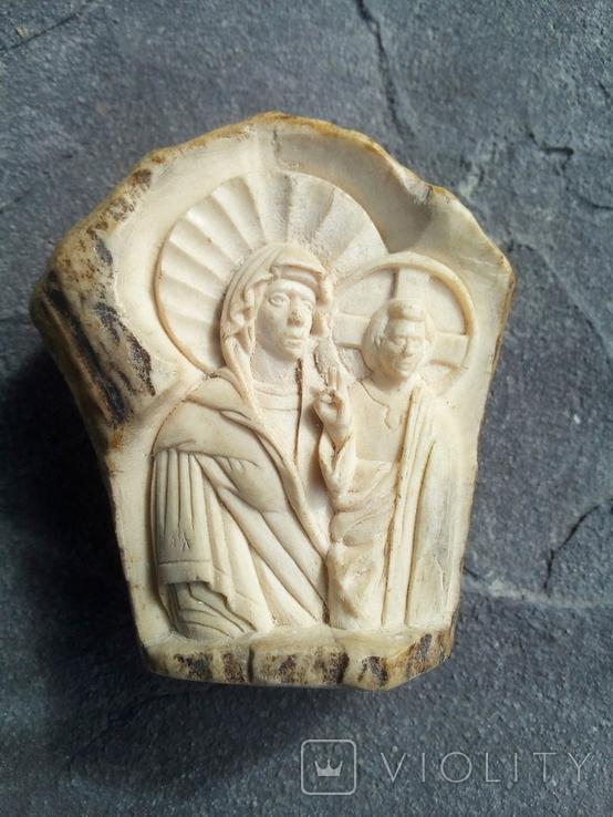Ікона з кістки., фото №2