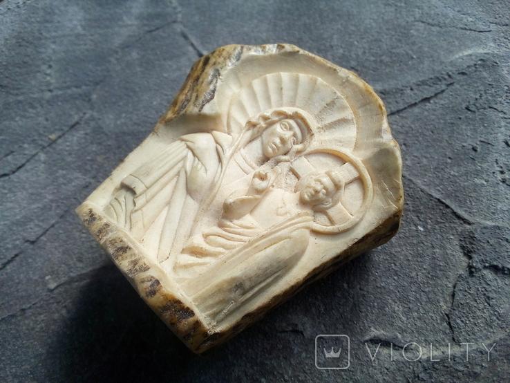 Ікона з кістки., фото №3