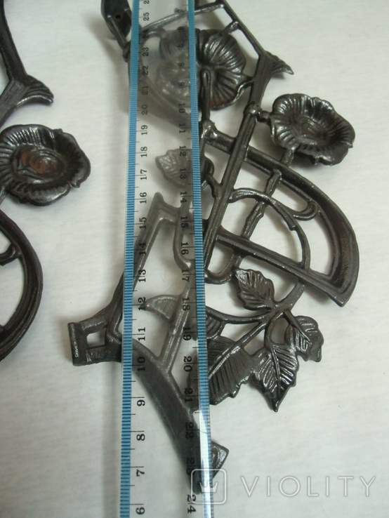 Боковины до потолочных керосиновых ламп№14, фото №12