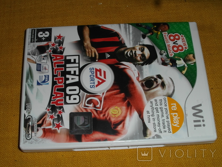 FIFA 09 All-Play Nintendo Wii review, фото №7