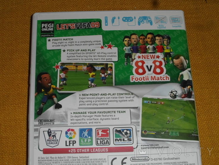 FIFA 09 All-Play Nintendo Wii review, фото №9