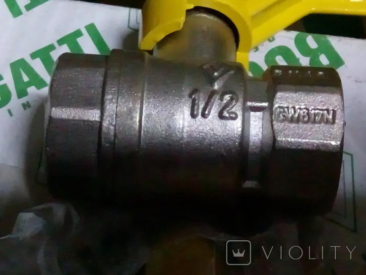 Упаковка газовых краников 24 шт., фото №5