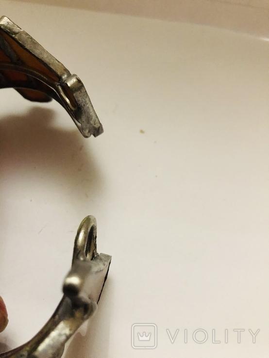 Браслет ручной работы срез сердолика, фото №8