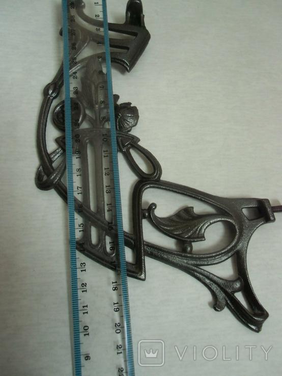 Боковины до потолочных керосиновых ламп №2 2шт., фото №12