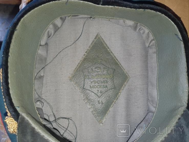 Офицерские фуражки СССР артиллериста СА( 2 шт одним лотом), фото №7