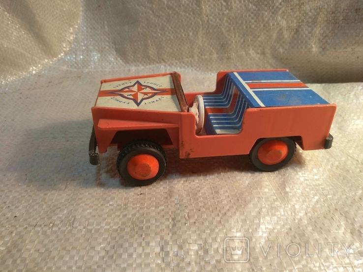 Машинка СССР джип, фото №2