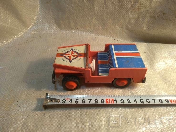 Машинка СССР джип, фото №3