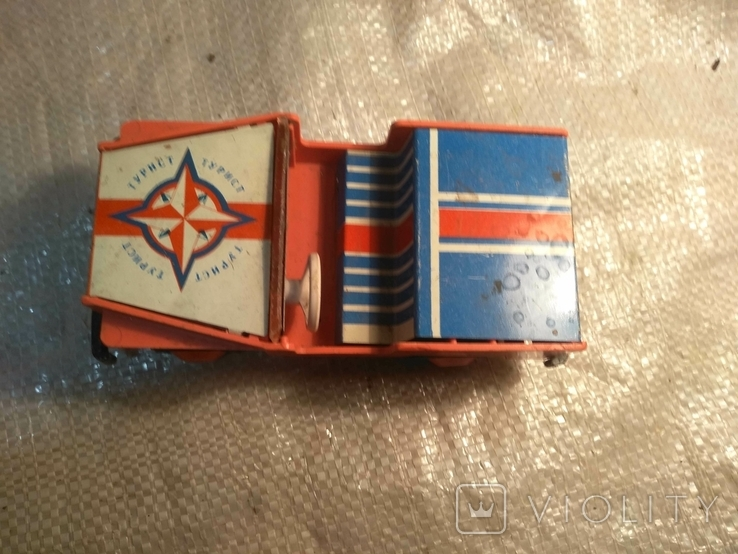 Машинка СССР джип, фото №8