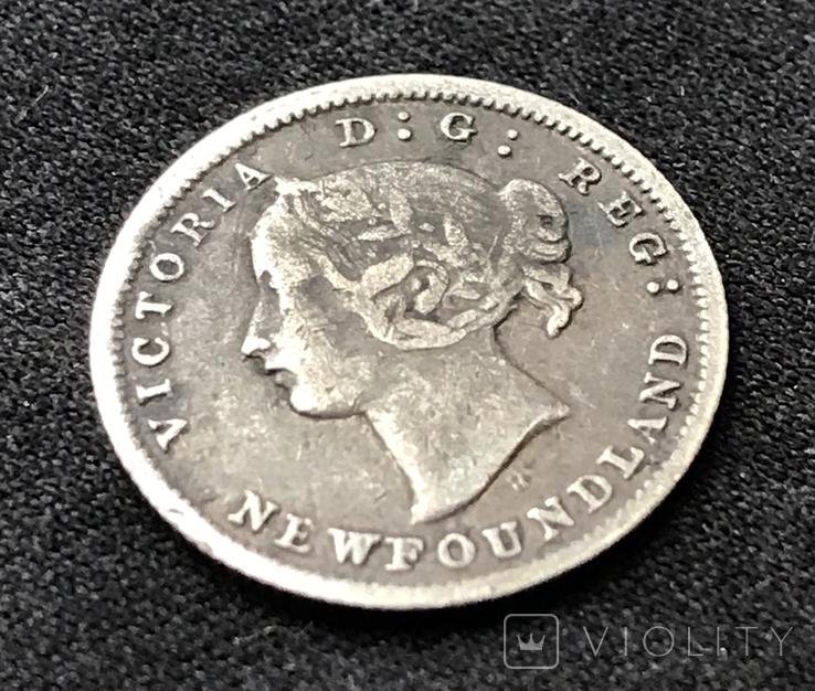 5 cent 1872 года Newfoundland, Канада, фото №5