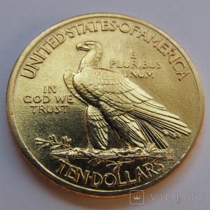 10 долларов 1912 г. США (Индеец), фото №7